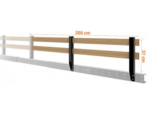 Loft Bed Railing Extension