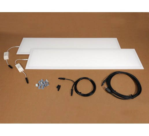 Two lamp lighting kit