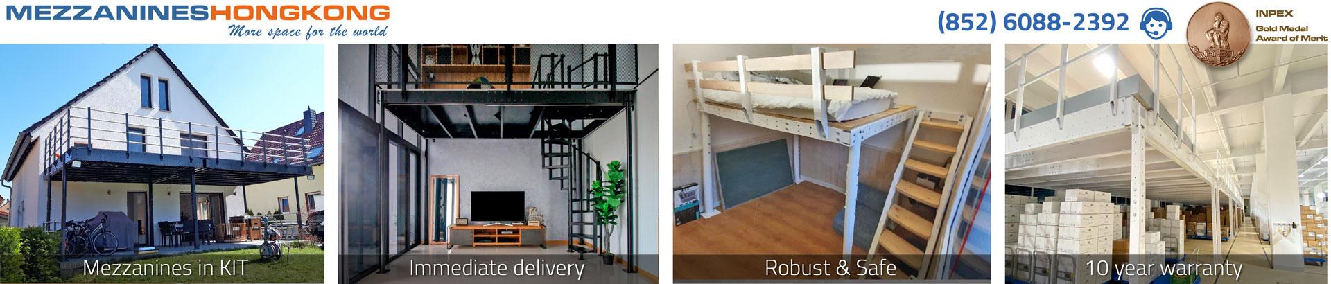 Mezzanines kit - MezzaninesHongKong.com